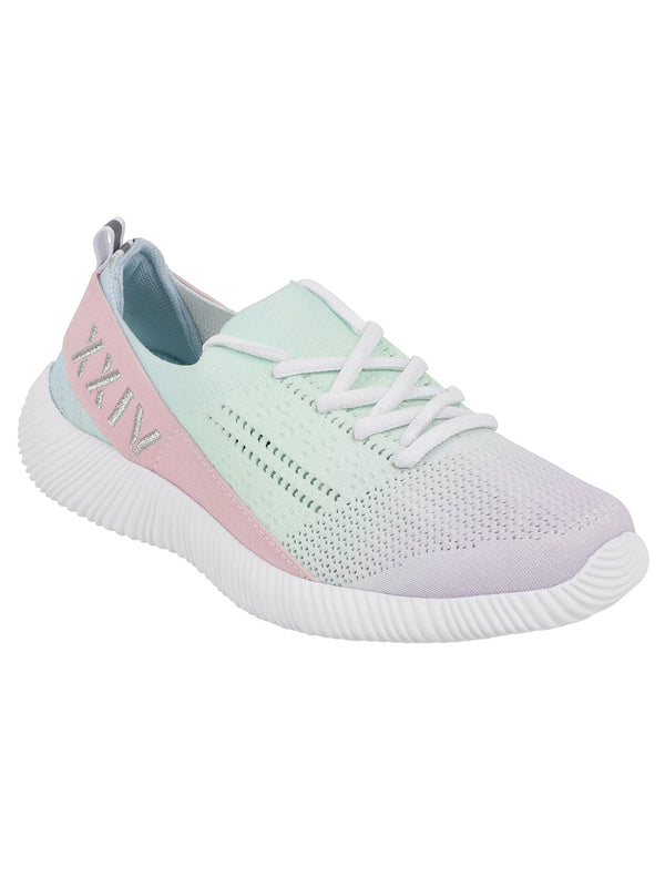 ZENITH - KazarMax XXIV Women's & Girl's Comfortable Pink Purple Blue Slipon Socks Sneakers/Trainers