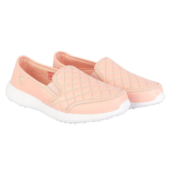ATTITUDE PINK - TWINNING KazarMax Girl's & Women's Embroidered Slipon Loafers/Shoes