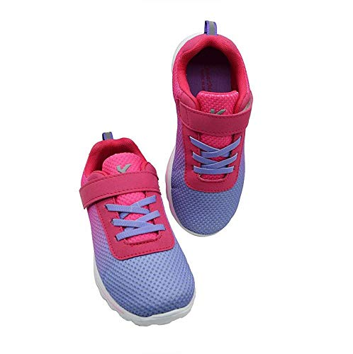 DREAM IN PINK - TWINNING KazarMax Girl's & Women's Pink Purple Ombre Printed Comfortable Sports Sneakers/Shoes