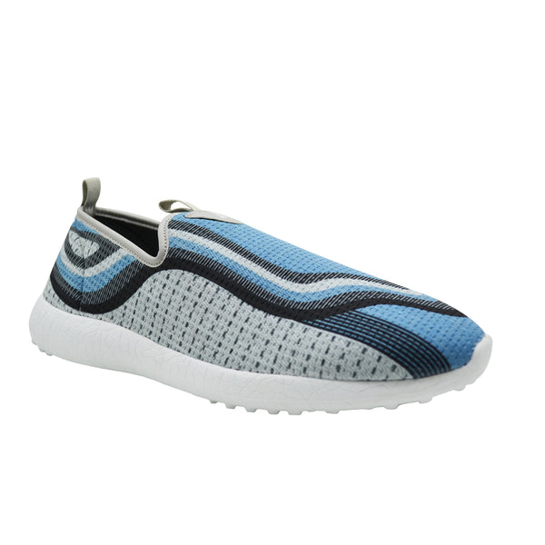 BLUE DAZE - KazarMax Men's Blue Grey Lifestyle Walking Shoes/Sneakers