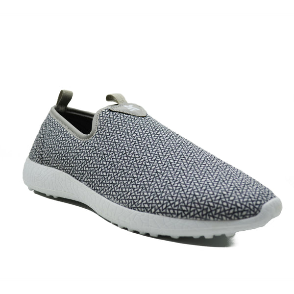 ZIGZAG - KazarMax Men's Grey Lifestyle Walking Shoes/Sneakers