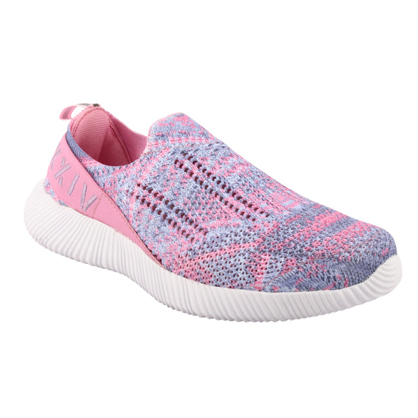 COTTON CANDY - KazarMax XXIV Women's & Girl's Comfortable Pink-Purple Slipon Socks Sneakers/Trainers