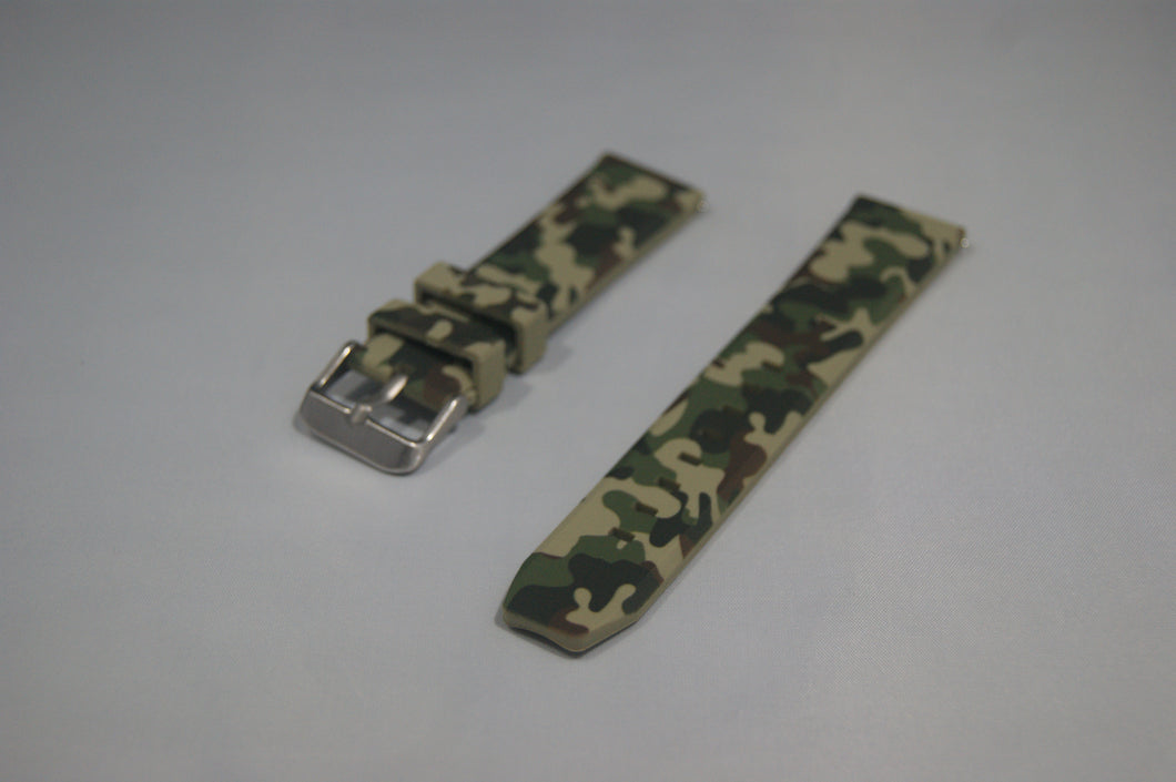 Silicone Camouflage Strap