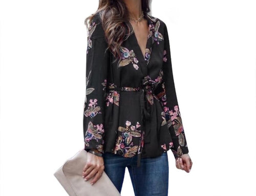Floralled Blouse - Couture Couldn't