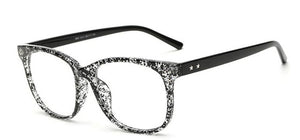 Transparent Retro Glasses - Couture Couldn't