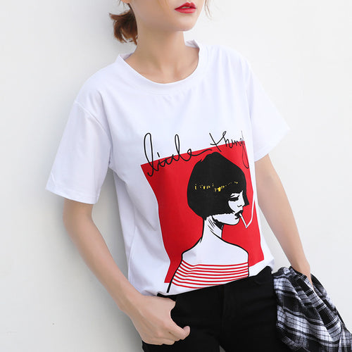 Red Drama T Shirt - Couture Couldn't