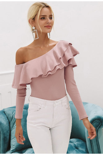 Shoulder Ruffle Blouse - Couture Couldn't