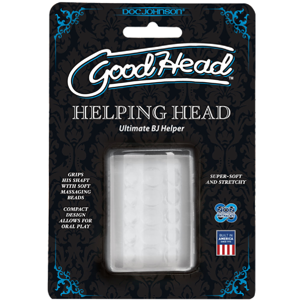 Helping Head Mini Stroker (Clear)