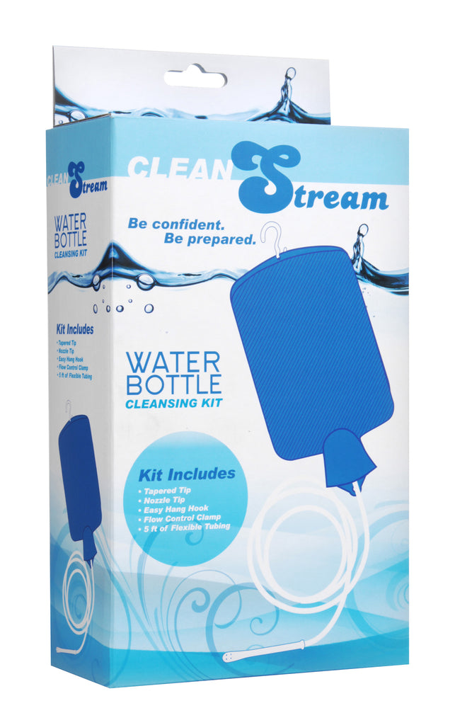 Water Bottle Cleansing Kit Blue