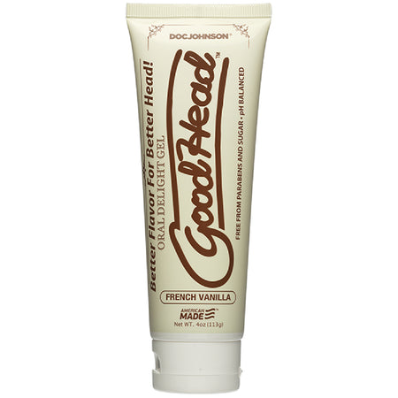 Good Head - Oral Delight Gel - 4 Oz Tube (French Vanilla)