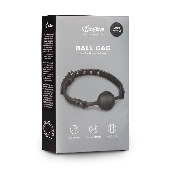 Ball Gag With Silicone Ball