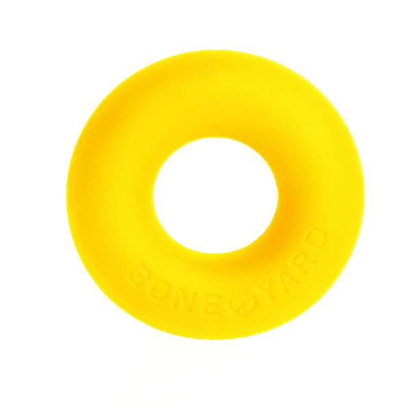 Ultimate Silicone Cock Ring Yellow