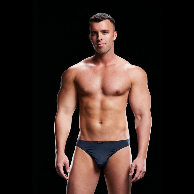 Low Rise Moonshine Brief - Navy - L/XL