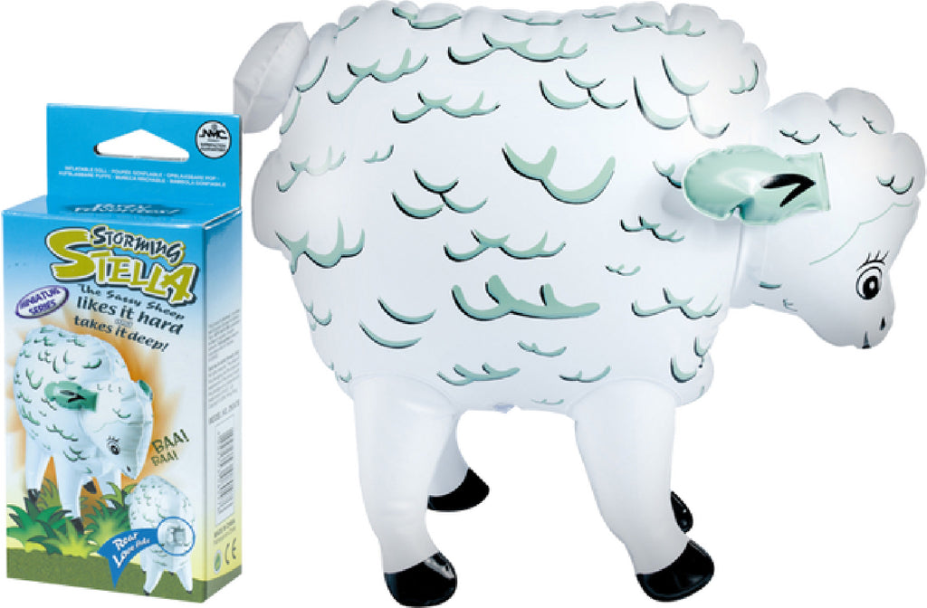 Storming Stella Inflatable Sheep