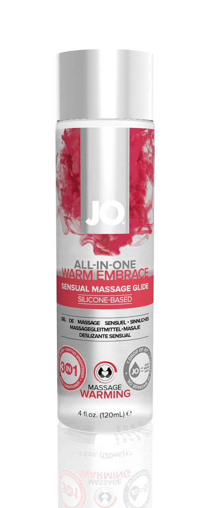 JO Massage Glide Warming 4 Oz / 120 ml