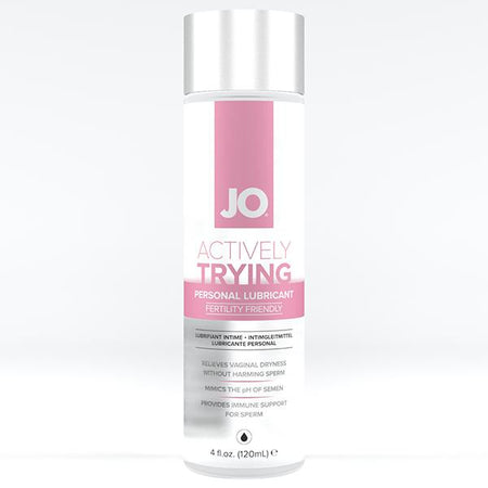 JO Actively Trying Lubricant 4 Oz / 120 ml