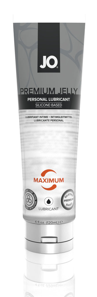 JO Premium Jelly - Maximum - Lubricant (Silicone) 4 Oz / 120 ml