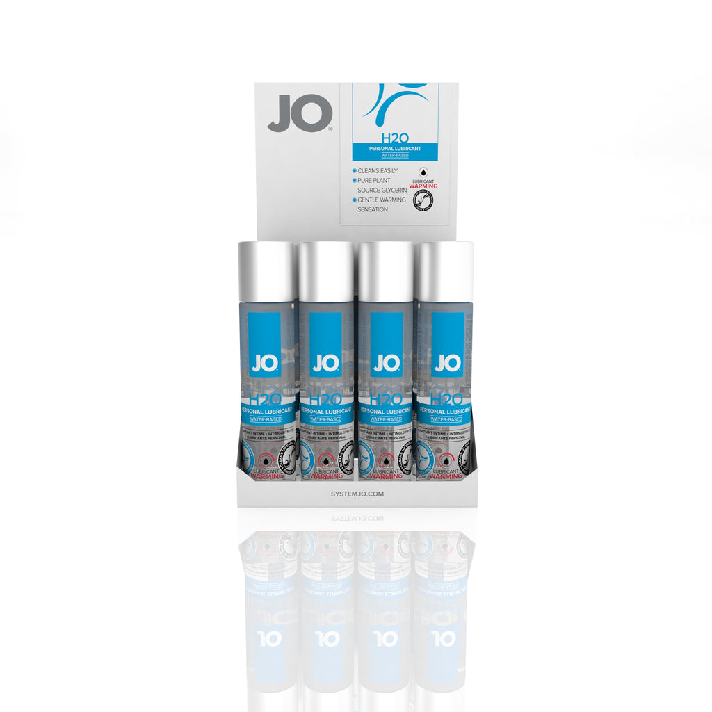 JO H2O Lubricant Warming 1 Oz / 30 ml