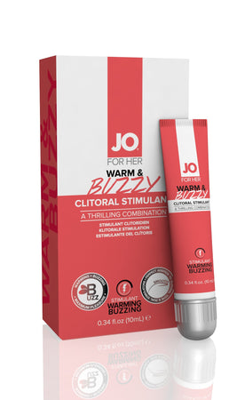 Jo Warm & Buzzy - Clitoral Cream 10ml