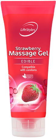 Strawberry Massage Gel 200g