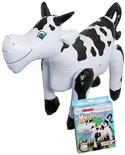 Little Daisy Blow-Up Cow