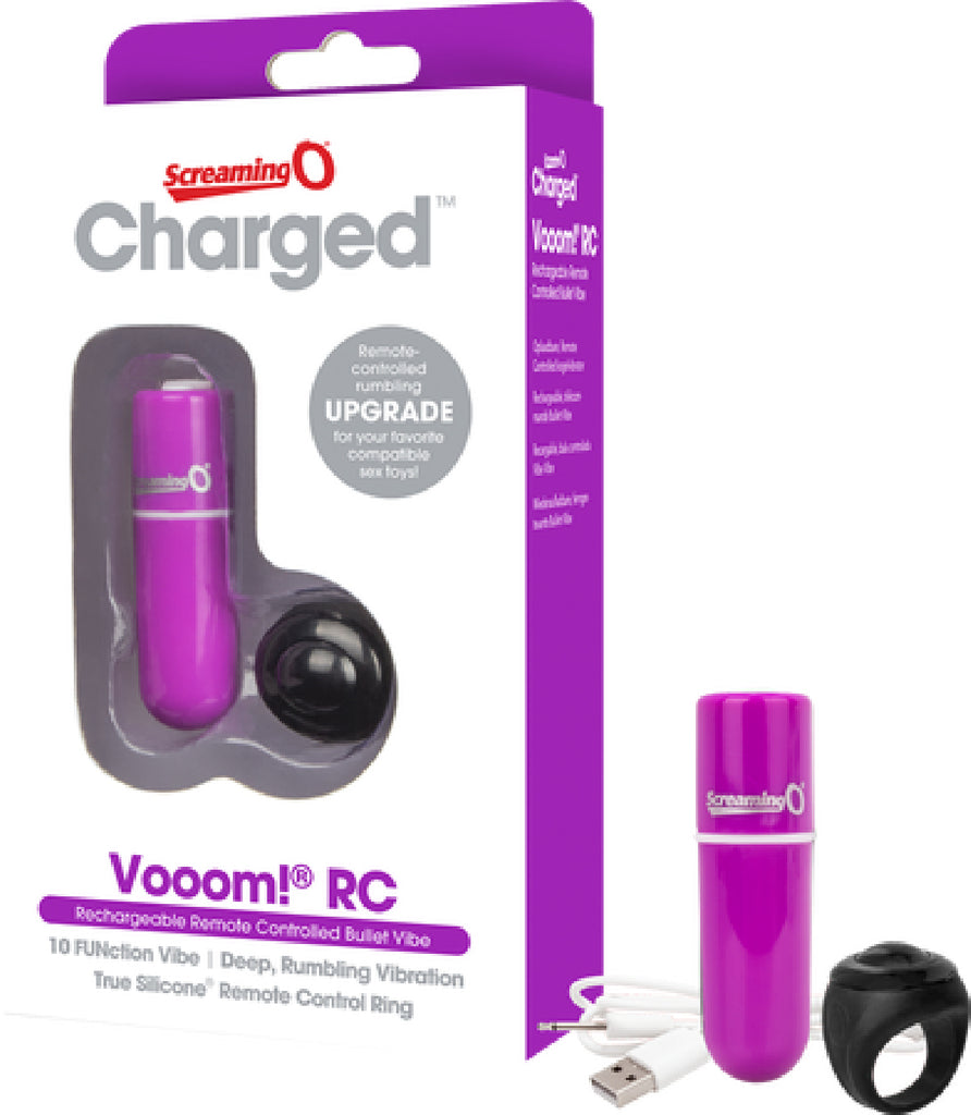 Remote Controlled Bullet Vibe - Vooom! RC - Purple