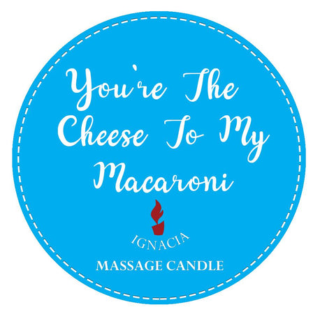 Massage Candle - Youre The Cheese To My Macaroni 135g