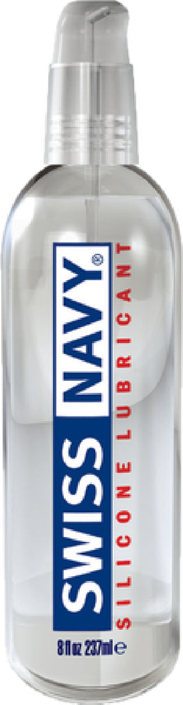 Swiss Navy Silicone Lubricant 8oz/237ml