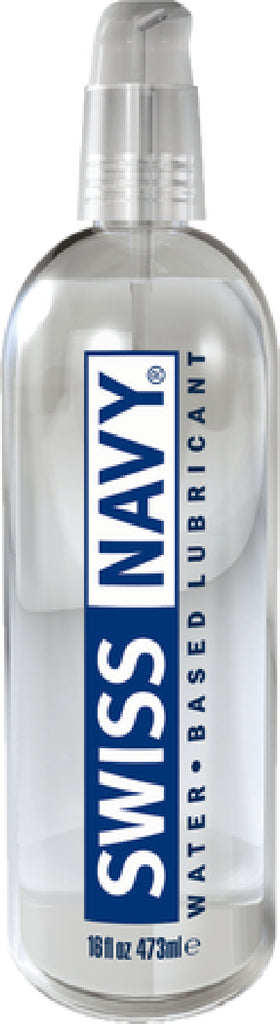 Swiss Navy Water Based Lubricant 16oz/473ml