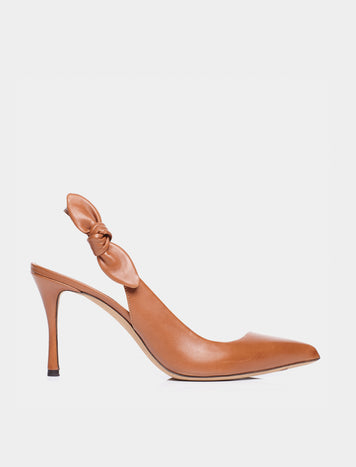MILLIE COGNAC ANTIC CALF