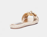 Heli Gold Metallic Nappa