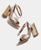 Toni Gold Metallic Nappa