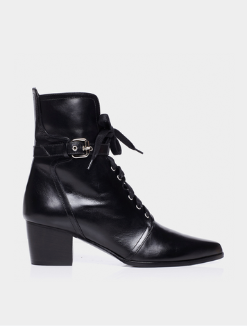 PORTER BLACK SHINY CALF