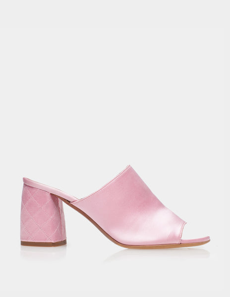 THELMA LIGHT PINK SATIN