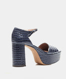 PATTON NAVY EMBOSSED CROCO