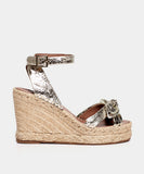 ROSS LIGHT GOLD EMBOSSED MIRROR PYTHON