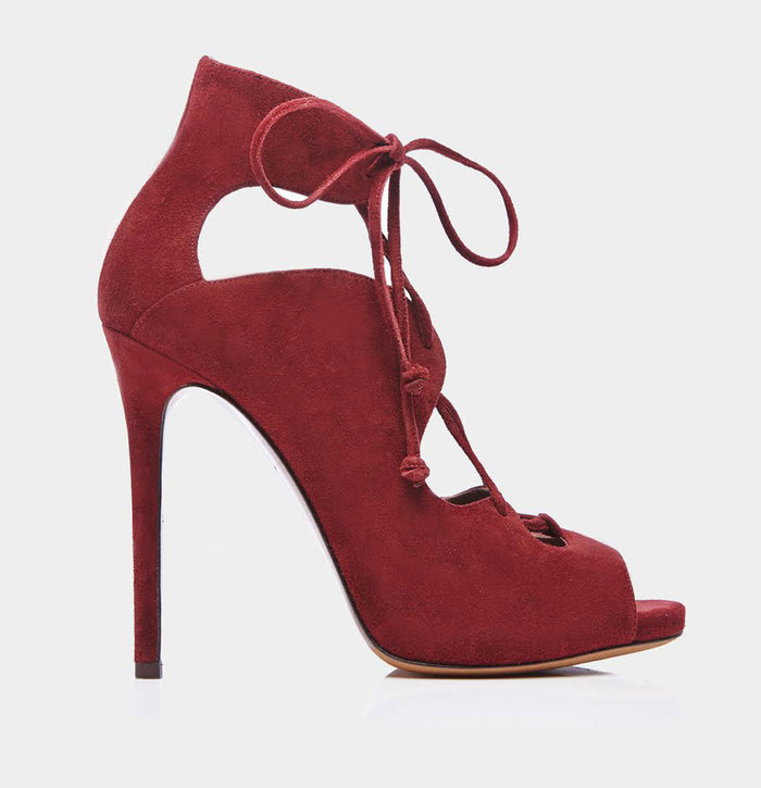 REED DARK CHERRY KIDSUEDE