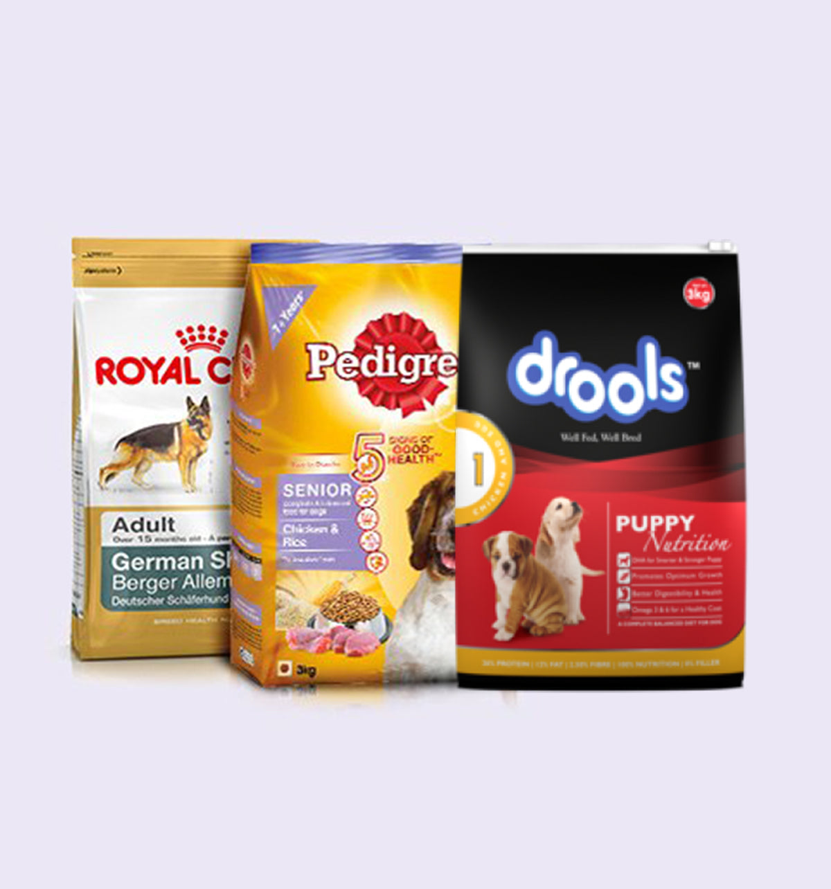 Which Brand is best for your Dog? Royal Canin vs Pedigree vs Drools