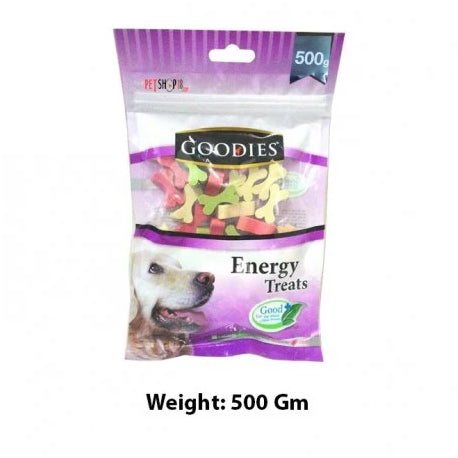 Goodies Cut Bone Dog Energy Treat 500 gm - pet-club-india
