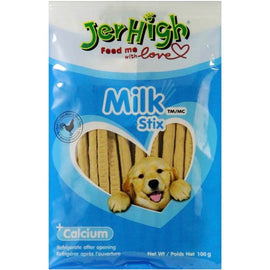 JerHigh Milk & Chicken Dog Treat 100 g - pet-club-india