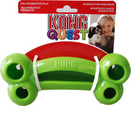 Kong Quest Chew Bone Dog Toys - pet-club-india