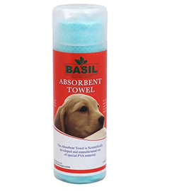 Basil Absorbent Bath Towel for Dog and Cat - pet-club-india