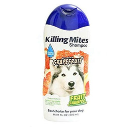 BBN All Natural Grapefruit Killing Mites Dog Shampoo 500 ml - pet-club-india