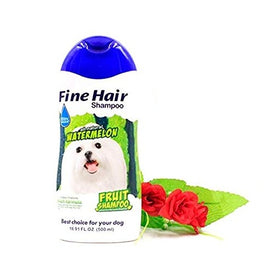 BBN All Natural Watermelon Fruit Fine Hair Dog Shampoo 500 ml - pet-club-india