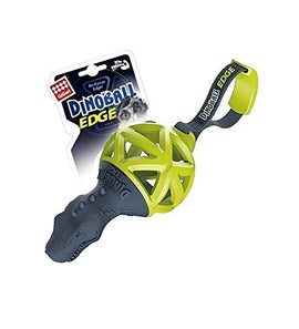 Gigwi Dinoball Edge with Strap Chew Dog Toy - pet-club-india