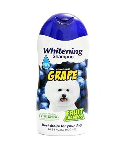 BBN All Natural Grape Fruit Whitening Dog Shampoo 500 ml - pet-club-india