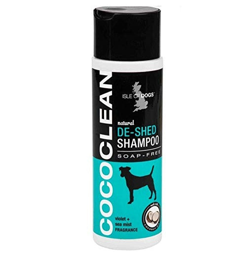 Isle of Dog CocoClean Natural De-Shed Dog Shampoo violet + Sea mist. 250 ml - pet-club-india