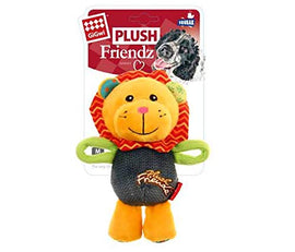 GiGwi 'Plush Friendz' Lion Squeaky Dog Toy - pet-club-india