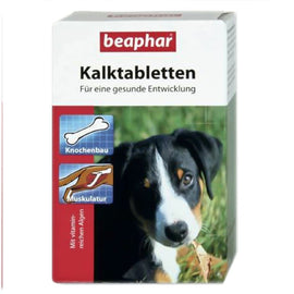 Beaphar Kalk Calcium Dog Tablets for Teeth, Bones, Skin and Coat - pet-club-india