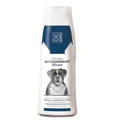 M-Pets Natural Anti Dandruff Dog Shampoo 250 ml - pet-club-india